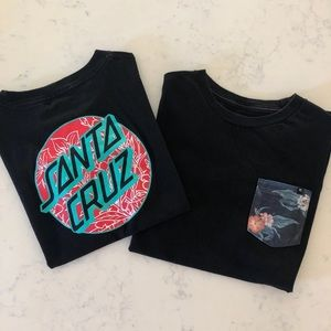 Boys Surf/Skate Brand Short Sleeve T-Shirts